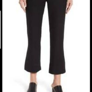 EILEEN FISHER Black Pull On  Bootcut Crop Pants